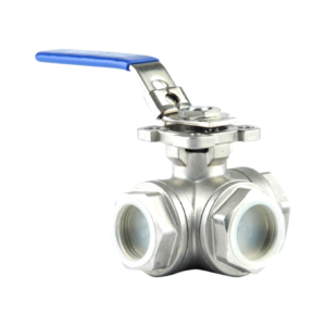 Jual Three Way Ball Valve