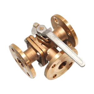 Jual Bronze Three Way Valve Cla-Val